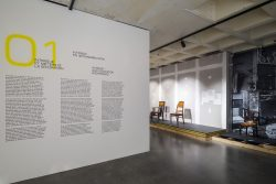 Scenography by stoz.design. SPACES Interior design evolution, Adam Brussels Design Museum