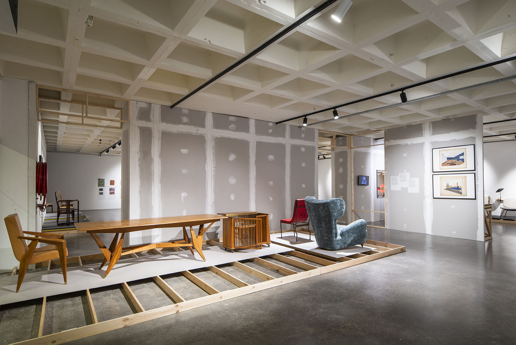 Bureau de Jacques Dupuis, Adam Brussels Design Museum, scénographie: stoz.design