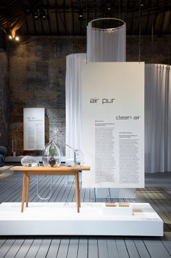 Exhibition Design on Air By stoz design scenography