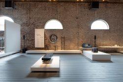 """design de l'exposition """"Design on Air"""" pour le CID au Grand-Hornu par Benjamin Stoz"""