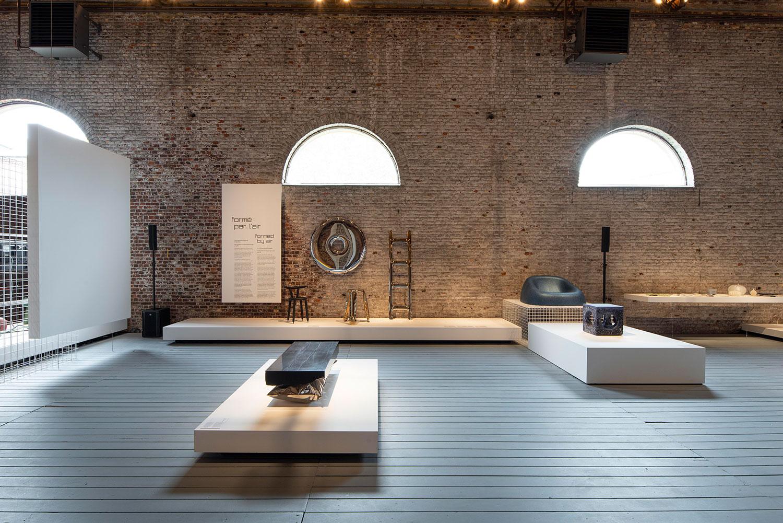 design de l'exposition
